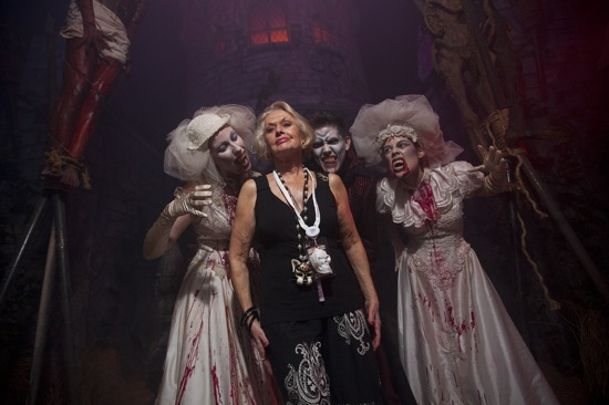 Tippi Hedren visits Universal Orlando Halloween Horror Nights